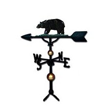 Deluxe Bear Weathervane