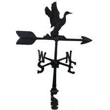 Aluminum Duck Weathervane