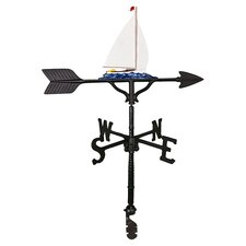 Sailboat Weathervane