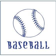 Magnet Baseball Canvas Art