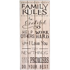 Slat Wall Sign