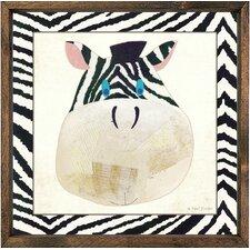 Zebra Framed Art
