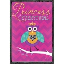 Magnet Art Print Princess of Everything Framed Art