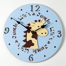 "18"" Giraffe Wall Clock"