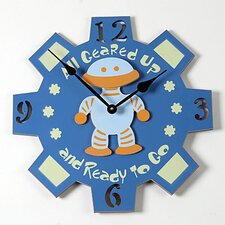 Robot Kid Clock