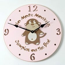 "18"" Monkey Wall Clock"