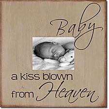 Baby a Kiss Blown From Heaven Memory Box