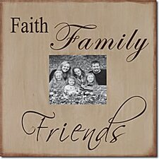 Faith, Family, Friends Memory Box