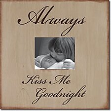 Always Kiss Me Goodnight Memory Box