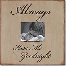 Always Kiss Me Goodnight Memory Box