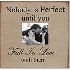 Nobody Is Perfect Until... Memory Box