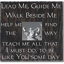 Lead Me Guide Me... Memory Box