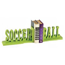 <strong>Forest Creations</strong> Soccer Ball Book Ends (Set of 2)