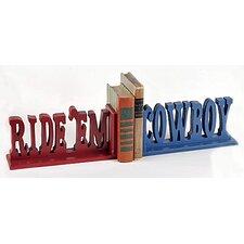 Ride 'em Cowboy Book Ends (Set of 2)