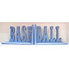 Baseball Book Ends (Set of 2)