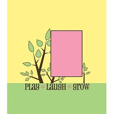 Play Laugh Grow Canvas Frame