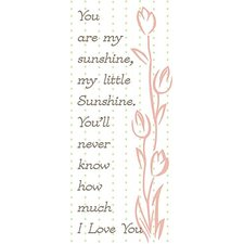 You Are My Sunshine Kids Canvas Art