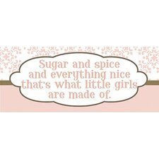 Sugar and Spice Kids Canvas Art