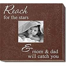 <strong>Forest Creations</strong> Reach for the Stars & Mom & Dad Will Catch You Home Frame