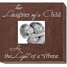 <strong>Forest Creations</strong> The Laughter of a Child Is the Light of a Home Frame