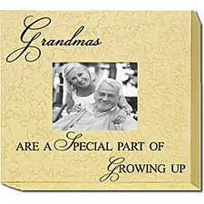 Grandmas Are A Special Part Of Growing Up Home Frame