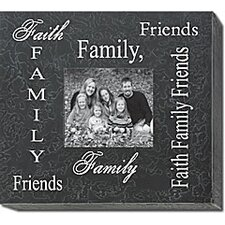 <strong>Forest Creations</strong> Faith Family Friends Home Frame
