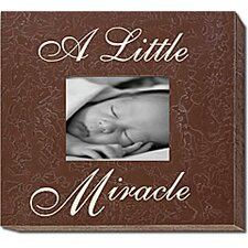 A Little Miracle Picture Frame