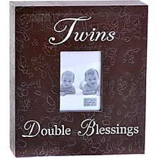 Twins Double Blessings Child Frame