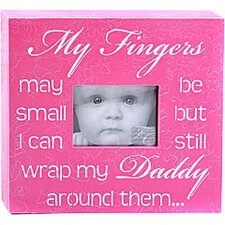 My Fingers May Be Small... Child Frame