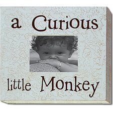 <strong>Forest Creations</strong> A Curious Little Monkey Picture Frame