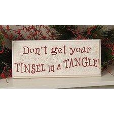 Christmas Seasons Sign Textual Art