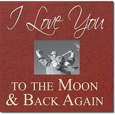 I Love You to the Moon & Back Again Memory Box
