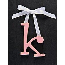 Letter K Hanging Initial