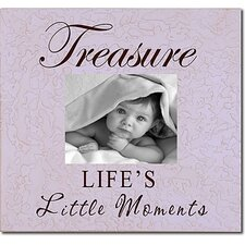 Treasure Life's Little Moments Picture Frame