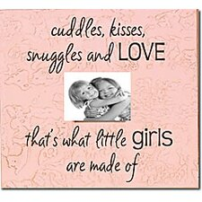 Cuddles, Kisses, Snuggles And Love... Child Frame