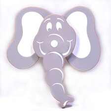 Elephant Head Peg (Set of 2)