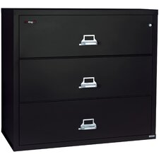 Fireproof 4-Drawer Lateral File