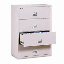 Insulated 4-Drawer Lateral File
