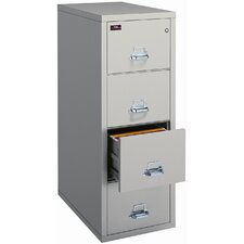<strong>Fire King</strong> Four-Drawer Vertical Letter File