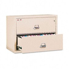 "<strong>Fire King</strong> 2 Drawer Lateral File, 31.13"" Wide, Ul Listed 350"