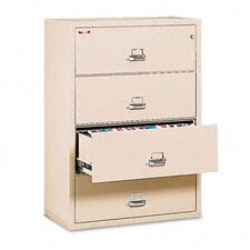 "4-Drawer Lateral File, 31.13"" W X 22.13"" D, Ul Listed 350, Letter/Legal"