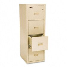 Turtle 4-Drawer File, Ul Listed 350 for Fire