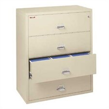 "44"" W Four-Drawer Lateral File"