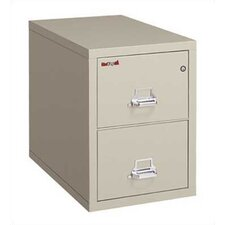 Fireproof 2-Drawer Legal Protection File