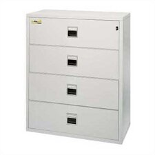 "<strong>Fire King</strong> 44 1/2"" W Four-Drawer Lateral Signature File"