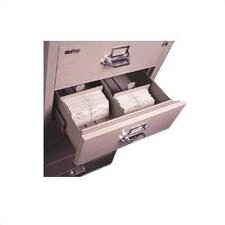 "6-Section Lateral File Document Insert for 3"" H x 5"" W Cards"