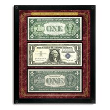 Motto No Motto Currency Collection Wall Framed Memorabilia