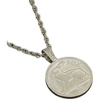 <strong>American Coin Treasures</strong> Lucky Rabbit Coin Pendant