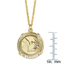 Hummingbird Coin Pendant