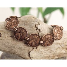 <strong>American Coin Treasures</strong> Copper Penny Bracelet
